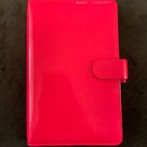 Patent Leather Filofax